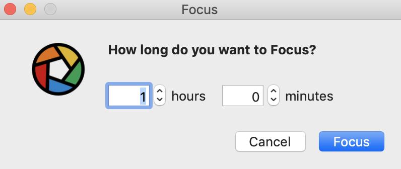 Using the Custom Focus feature