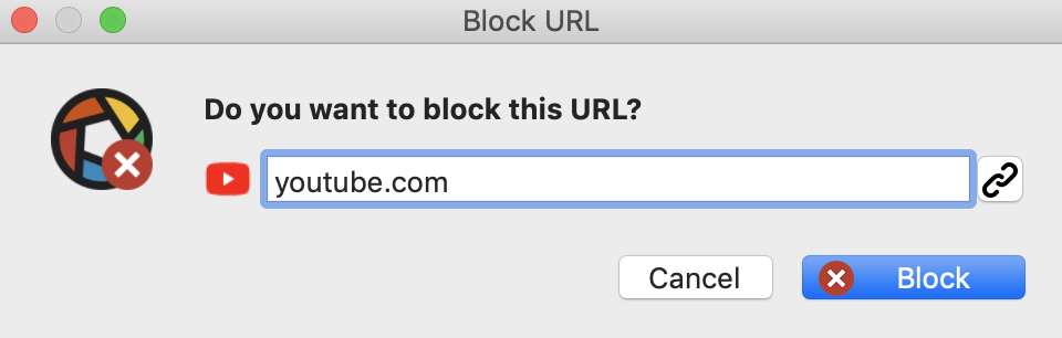 do you want to block this URL